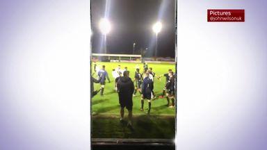 Brawl stops Rhyl-Leeds U23 match