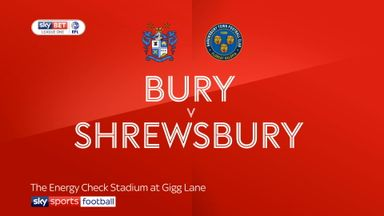 Bury 1-0 Shrewsbury
