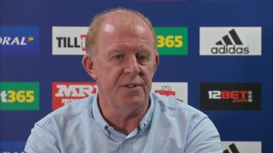 Megson coy on West Brom vacancy