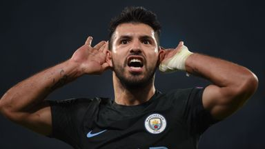Pep proud of record-breaker Aguero