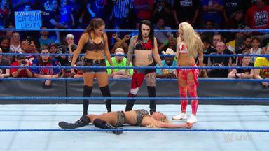 NXT crash Women's Championship Match