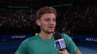 Special moment for Goffin