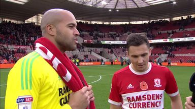 Boro duo delighted with win