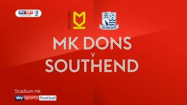 MK Dons 1-1 Southend