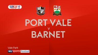 Port Vale 1-0 Barnet