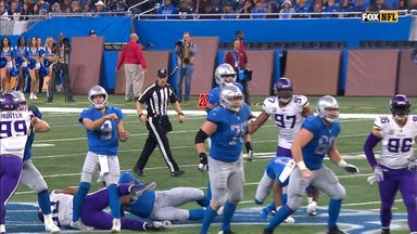 Stafford injured whilst throwing 43-yard TD
