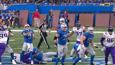Stafford hurt during 43-yard TD pass