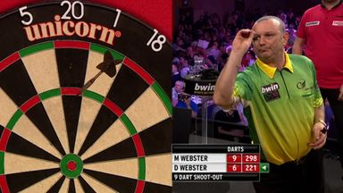 Brilliant nine dart shoot-out