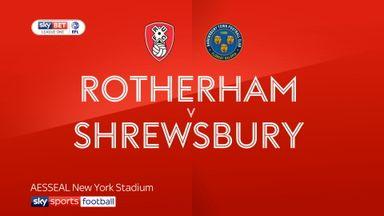 Rotherham 1-2 Shrewsbury