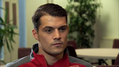 Xhaka: Arsenal can catch Man City