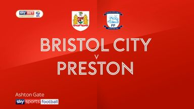 Bristol City 1-2 Preston