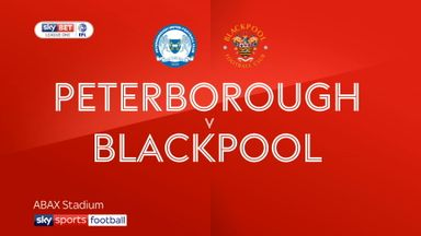 Peterborough 0-1 Blackpool