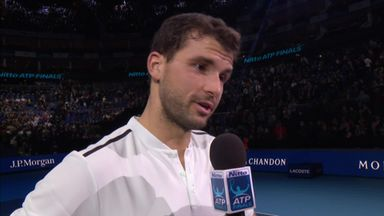 Dimitrov cruises past Carreno Busta