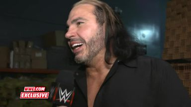 Matt Hardy reaching breaking point