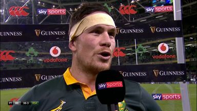 Louw: All credit to Ireland