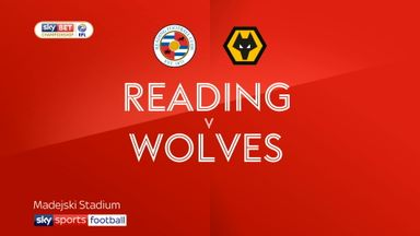 Reading 0-2 Wolves