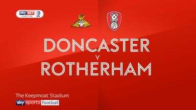 Doncaster 1-1 Rotherham