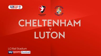 Cheltenham 2-2 Luton