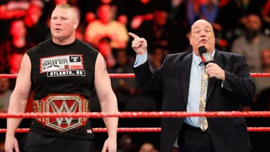 Lesnar will turn dream match into nightmare