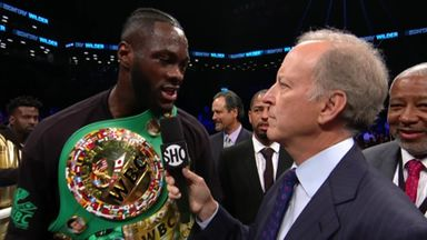 Wilder wants AJ next