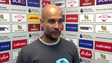 Guardiola: We could score more