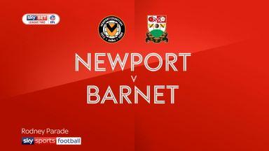 Newport 1-2 Barnet