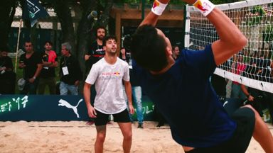 Red Bull's Footvolley Challenge