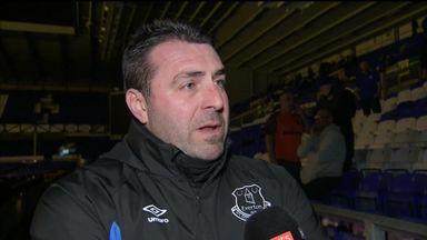 Unsworth: No news on Everton job