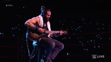 Matt Hardy interrupts Elias' performance