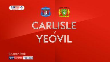 Carlisle 4-0 Yeovil