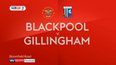 Blackpool 1-1 Gillingham