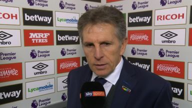 Puel disappointed with draw
