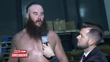 Strowman warns the WWE locker room