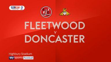 Fleetwood 0-0 Doncaster