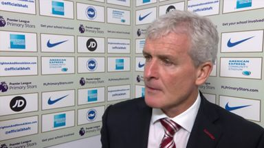 Hughes happy with away performance