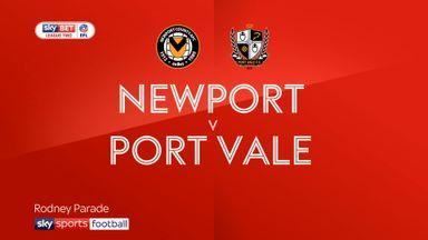 Newport 1-1 Port Vale