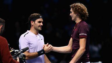 Federer v Zverev: Highlights