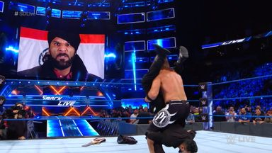 Mahal tries to get leg up on AJ Styles