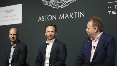 Aston Martin to power up in F1?