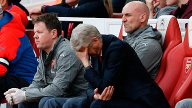 'Arsenal losing sight of top four'