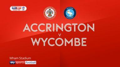 Accrington 1-0 Wycombe
