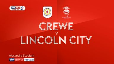 Crewe 1-4 Lincoln