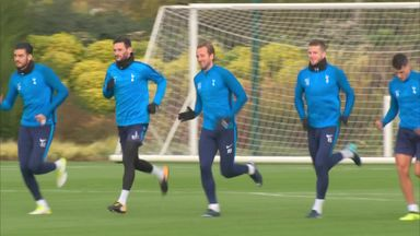 Tottenham prepare for Arsenal derby
