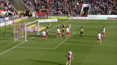Did Wood's header cross the line?