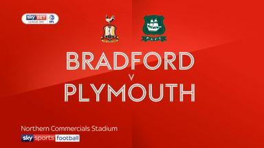 Bradford 0-1 Plymouth
