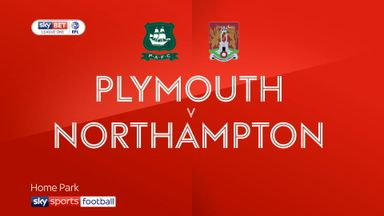 Plymouth 2-0 Northampton