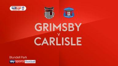 Grimsby 0-1 Carlisle
