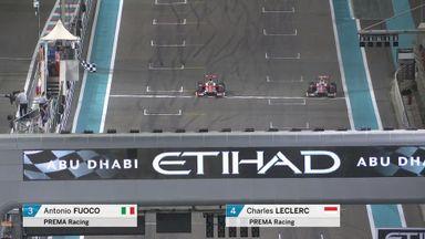 Closest F2 finish ever?