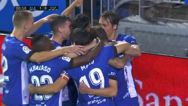Stunning start from Alaves