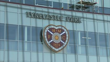 Hearts wait for Tynecastle all-clear
